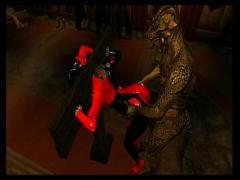 Good sensual video category big_ass (128 sec). Harley Quinn Gets Fucked By Lizardman Skyrim 3D Porn.