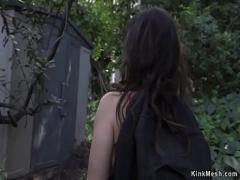 Watch film category bdsm (308 sec). Trespassing student rough fucked.