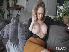 Watch tube video category sexy (501 sec). Touch my tits now, SON.