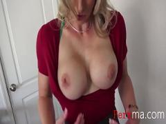 XXX tube video category blowjob (501 sec). Naughty games with MOM.