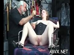 Adult movie category blowjob (309 sec). Mischievous bombshell is playing with herself era.