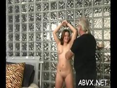 Full videotape recording category blowjob (309 sec). Babe is fingering her slit just for fun.