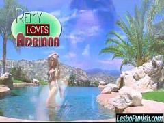 Good movie category lesbian (322 sec). Nasty Wild Lesbo Girl Punish Cute Lez Girl (adriana remy) clip-06.