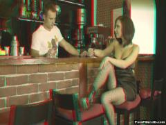 Super erotic category Porn Films 3D (180) sec. Hot barman (Masha).