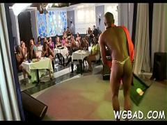 Full seductive video category cumshot (300 sec). Huge adoration for strippers.