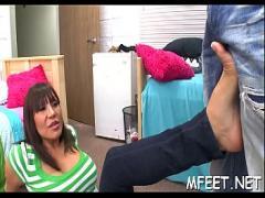Adult x videos category cumshot (300 sec). Heavenly brunette bombshell Ava Devine gets drilled hard.