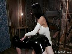 Sexy sensual video category bdsm (310 sec). Alt mistress whips gimp mask man.