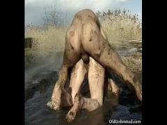 Nice hub video category cumshot (317 sec). Horny mature housewife covered with mud.