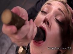 Stars videotape recording category bdsm (326 sec). Busty blonde tits tortured.