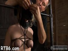 Stars tube video category blowjob (326 sec). Painful facial torture for honey.
