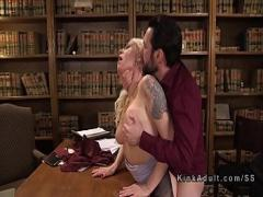 Download porno category anal (326 sec). Busty blonde anal banged in bondage.