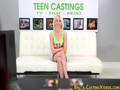 Sexy movie category teen (480 sec). Petite teen strips down.