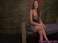 Stars stream video category bdsm (480 sec). Kinky mistress bangs sub.