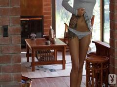 Super sexual video category blonde (480 sec). Taylor Seinturier - Gorgeous tattooed blonde solo striptease - XBabe.