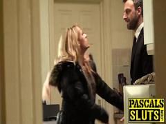 Watch romantic video category blonde (480 sec). Brittany Bardot swallows Pascals big dick and rides him.