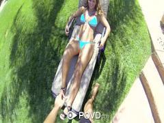 Nice erotic category blonde (376 sec). HD POVD - Keisha Grey loses rips off her bikini to get fucked.
