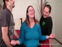 Nice video category blowjob (624 sec). Casting big tits Isabelle Desperate Amateurs threesome.