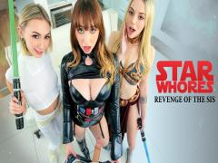 Star Whores Revenge Of The Sis (Chloe Temple,Lily Larimar,Quinn Wilde)